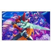 Неформатный постер по Megaman
